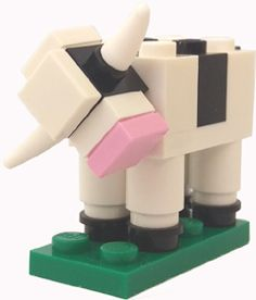 For the 2015 Eastern States Exposition in Massachusetts, LEGO offered visitors the chance to make-and-take a cow model, complete with rotating head and swinging tail. This is an official LEGO model, similar to the Americana Roadshow miniature buildings, but unless you attended the event in person, you may not have heard about it.
