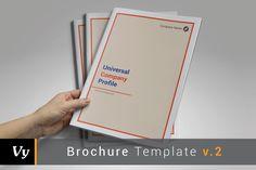 Company Profile Template by voryu on @creativemarket