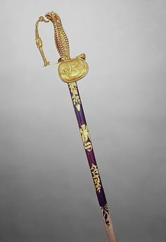 Presentation Sword with Scabbard