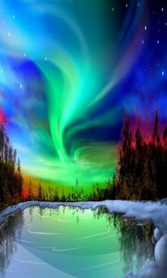 Amazing Aurora Borealis over Alaska. Anchorage's bright starry nights are nature's perfect backdrop for dancing northern lights, also known as the aurora borealis. Beautiful Sky, Beautiful Landscapes, Beautiful Places, Beautiful Pictures, Beautiful Images Of Nature, Beautiful Morning, Naturally Beautiful, Beautiful Scenery, Beautiful Lights