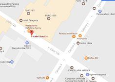 Parking, Map, Zaragoza, Restaurants, Places, Location Map, Maps