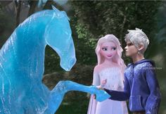 Elsa Y Jack Frost, Jake Frost, Jack And Elsa, Frozen Elsa And Anna, Disney Princess Pictures, Disney Princess Frozen, Sailor Princess, Walt Disney Pictures, Princess Luna