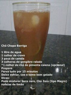 Chá Chapa Barriga