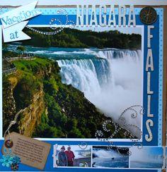 Vacation+At+Niagara+Falls - Scrapbook.com