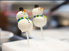 Pop cake snow