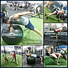 WOD done - P90X2 Total Body Workout with some TRX Core Work, and a 1 mile cool down run. Join me, ask me about my P90X Challenge Groups that you can do from home or gym: http://www.fb.com/arnelbanawa #P90X2 #TRX #Shakeology #BeachbodyChallenge