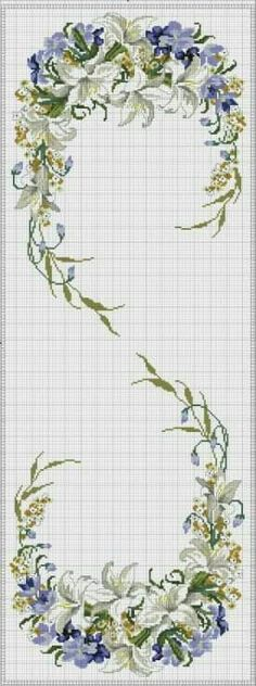 This Pin was discovered by TC Cross Stitch Numbers, Cross Stitch Borders, Cross Stitch Alphabet, Cross Stitch Flowers, Cross Stitch Kits, Cross Stitch Charts, Cross Stitch Designs, Cross Stitching, Cross Stitch Embroidery