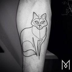 Traços mais simples podem ser o ideal para quem quer se aventurar no mundo das tatuagens.