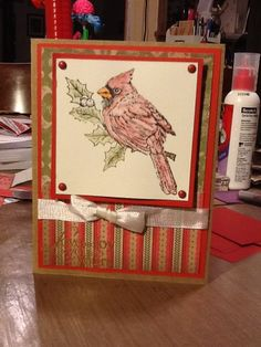 Ginger's Vintage Room: Close to my heart, to you and yours, ctmh, pear and partridge