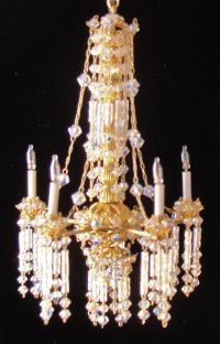 Chandeliers, furniture