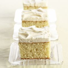 Vanilla Cake with Vanilla Buttercream Frosting from McCormick.com @Erin McCormick