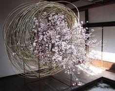 not garden... but it's some dynamic flower arrangement!!
