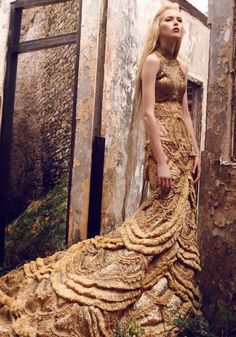 Luki lends his photographic skill for designer Hian Tjen's new line which is modeled by the ever-gorgeous Milena Stepien.