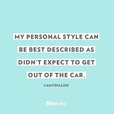 Top bun & on the run! :red_car: :dash: // #momlife #momdotme