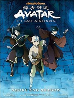 Buy Avatar: The Last Airbender - Smoke And Shadow Library Edition by Gene Luen Yang at Mighty Ape NZ. The Fire Nation is threatened by a prophecy told by the Kemurikage - mysterious figures thought only to exist in legend: 'remove Zuko from the throne . Avatar Airbender, Avatar Aang, Zuko, Free Avatars, Nickelodeon Cartoons, Horse Books, Ty Lee, Team Avatar, Fire Nation