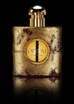We do NOT like the fragrance but only the design of the perfume flacon. Eau de Parfum 'Opium' by Yves Saint Laurent Yves Saint Laurent, Saint Yves, Perfume Fragrance, Creed Perfume, Parfum Chic, Cosmetics & Perfume, Beautiful Perfume, Perfume Collection, Vintage Perfume Bottles