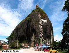 Guatape piedra del Peñol con letsgo.colombia7@gmail.com