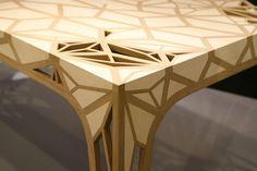 Table en marqueterie Atelier Mogador  Ob'art – Montpellier