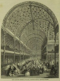 The Crystal Palace Bazaar, London, 1858