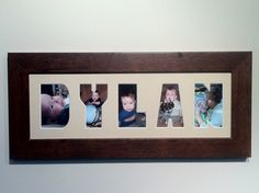 7 letter Personalized Custom Name Frames/ by SpecialtyFrames, $40.00