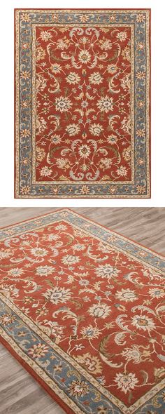 Bohemia is in full bloom. Beautify your home with this colorful, hand-tufted floral print area rug. Made of 100% hand-spun wool, this design features a plush pile that's both soft and easy to care for....  Find the Blossom and Bloom Area Rug, as seen in the Bohemian Meets Mid-Century Collection at http://dotandbo.com/collections/bohemian-meets-mid-century?utm_source=pinterest&utm_medium=organic&db_sku=120269