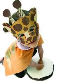 Zid Zid Kids Giraffe Animal Play Mask and Cape Set – Wild Dill