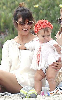Beach Babe from Kourtney Kardashian's Family Album   E! Online
