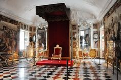 Throne Room of OUR moated castle in DK.   Frederiksborg Castle  :)