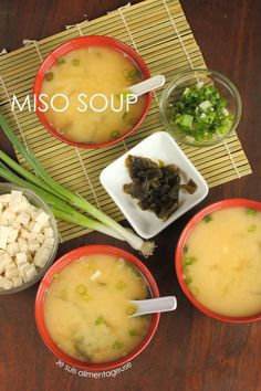 Share Tweet + 1 Mail Make your own vegan miso soup at home! My time with Chris is ending Sunday at 5 am when ...
