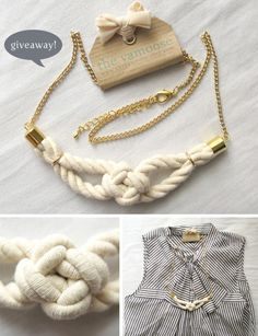 Sailor knots jewelry
