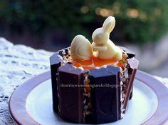 Cestini golosi al cioccolato - #ricetta #pasqua