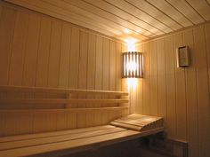 Cedar or Aspen Corner Light Diffuser Shade from Superior Sauna & Steam