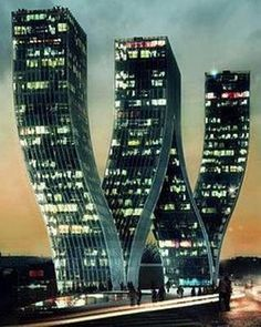 Walter Towers - #Prague Czech Republic   Incredible Pictures #architecture #waltertowers #modernarchitecture