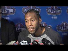Kawhi Leonard Postgame Interview 2017 NBA All Star February 19, 2017