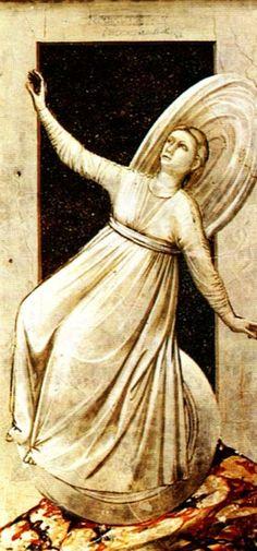 Giotto di Bondone - Inconstancy, 1306