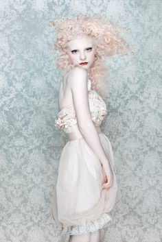 pale skin and peach hair. Jason Garn Photography