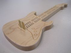 Electric Guitar Cribbage Board