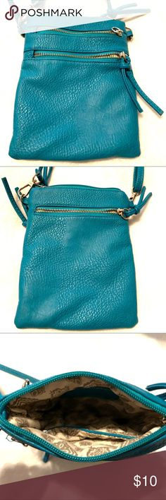 MORE COLOURS Joules Fairford Bright Faux Leather Zip Round Purse