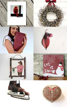 Winter Berry by fifthseason on Etsy--Pinned with TreasuryPin.com Berry, Winter, Winter Time, Bury, Winter Fashion