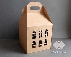 Крафт Дом 18*18*18 (до крыши) — iPapera