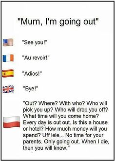 Balkan parents be like. Stupid Funny Memes, Funny Quotes, Parents Be Like, Polish Memes, Polish Language, Internet Memes, Best Funny Pictures, Funny Pics, Alphabet