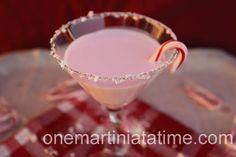White Chocolate Candy Cane Martini