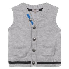 Gilet sans manches gris #zgeneration #z #fashion #gilet #boy #baby #graindeble…