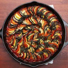 Cette variante de tian provencal réchauffera vos soirées d'hiver