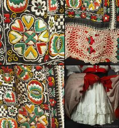 Complete Woman's Czech Folk Costume from Kyjov by ethnicdress