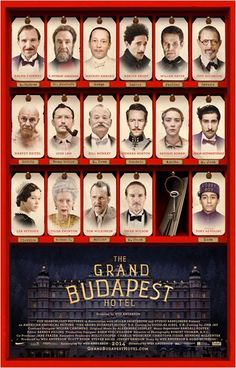 The Grand Budapest Hotel Séance le