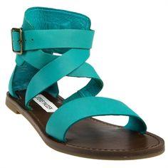 Steve Madden Bethanyy Ankle Strap Flat Sandal #VonMaur