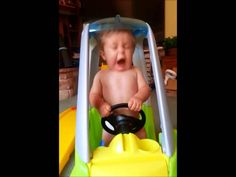 Baby ROAD RAGE (slow motion). Happy Sunday.