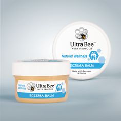 BENEFITS * Aids in the healing of eczema and other skin ailments * Propolis and beeswax function as natural anti-septic and inhibit the growth of fungal infections ADDITIONAL INGREDIENTS * Tea Tree Bites And Stings, Fungal Infection, Skin Rash, Cold Sore, Reduce Inflammation, Hand Cream, Tea Tree, The Balm, Moisturizer