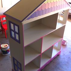 My salvation army find $25 doll house before